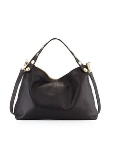 Foley + Corinna Matia Convertible Leather Satchel Bag