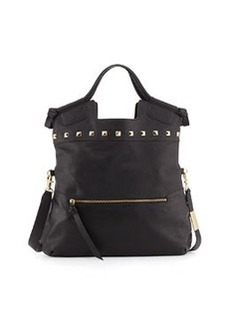 Foley + Corinna Mid City Large Foldover Tote, Black