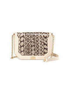 Foley + Corinna Mini Snake Crossbody Bag, Beige/Desert
