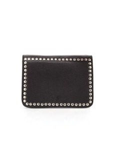 Foley + Corinna Moto Studded Crossbody Clutch, Black