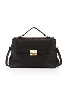Foley + Corinna Nicolette Leather Satchel, Black