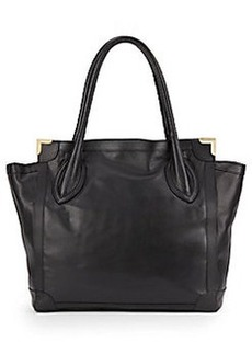 Foley + Corinna Pebbled Leather Tote Bag