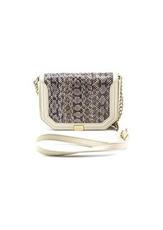 Foley + Corinna Plated Mini Crossbody Evening Bag,Desert,One Size