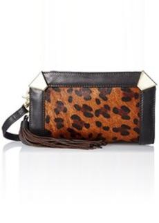 Foley + Corinna Portrait Cross Body Bag, Leopard Hair Calf, One Size