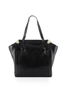 Foley + Corinna Portrait Leather Shopper Tote Bag