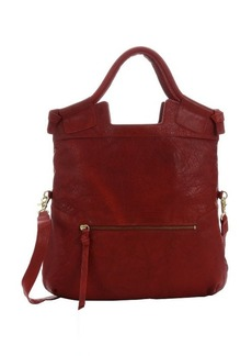 Foley + Corinna red leather 'Mid City' convertible tote