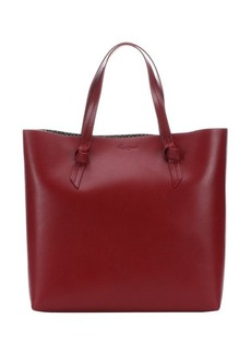 Foley + Corinna ruby leather 'Emerald' large top handle tote