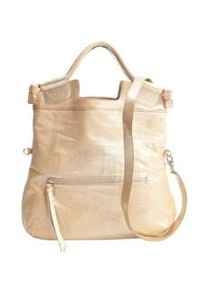 Foley + Corinna sand glitter leather convertible 'Mid City' hobo bag