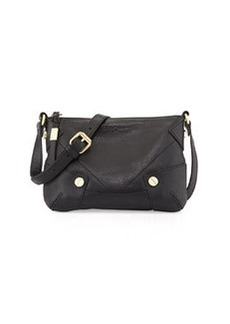 Foley + Corinna Sequoia Leather Crossbody Bag, Black