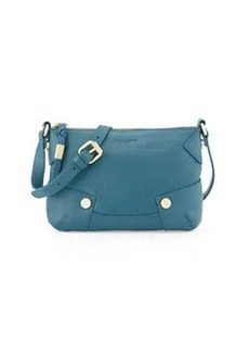 Foley + Corinna Sequoia Leather Crossbody Bag, Marine