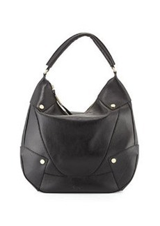 Foley + Corinna Sequoia Leather Hobo Bag, Black