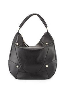 Foley + Corinna Sequoia Leather Hobo Bag, Black