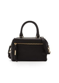 Foley + Corinna Sherry Leather Demi Satchel Bag, Black