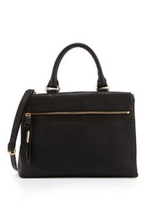Foley + Corinna Sherry Leather Satchel Bag, Black