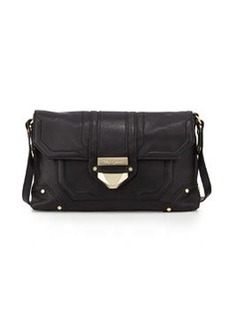 Foley + Corinna Soiree Leather Crossbody/Clutch Bag, Black