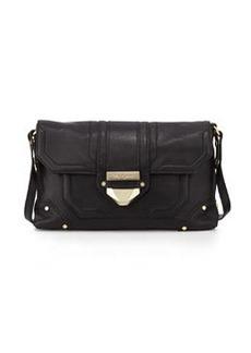 Foley + Corinna Soiree Leather Crossbody/Clutch Bag, Black