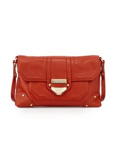 Foley + Corinna Soiree Leather Crossbody/Clutch Bag, Spice