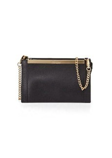 Foley + Corinna Structured Bar Crossbody Bag, Black