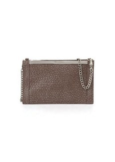 Foley + Corinna Structured Bar Crossbody Bag, Sterling