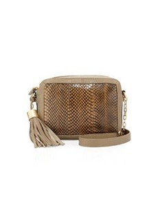Foley + Corinna Tassel Charmer Crossbody Bag, Safari Snake