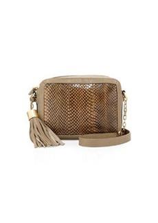 Foley + Corinna Tassel Charmer Crossbody Bag, Safari Snake