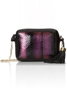 Foley + Corinna Tassel Charmer Watersnake Cross Body Bag