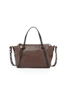 Foley + Corinna Tight Rope Mini Satchel Bag, Dark Brown