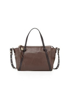 Foley + Corinna Tight Rope Mini Satchel Bag, Dark Brown
