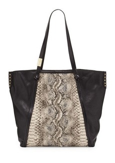 Foley + Corinna Tight Rope Snake-Print Tote Bag  Tight Rope Snake-Print Tote Bag