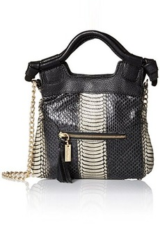 Foley + Corinna Tiny City Evening Bag, Chalk Snake Combo, One Size