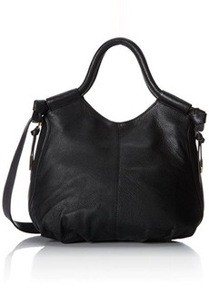 Foley + Corinna Trapeze Satchel,Black,One Size