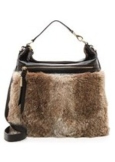 Foley + Corinna Trifecta Backpack with Fur