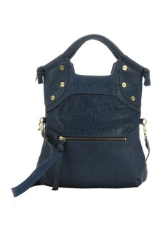 Foley + Corinna true blue leather 'FC Lady' convertible tote