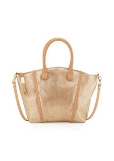 Foley + Corinna Tucker Leather Satchel Bag, Gold Dust