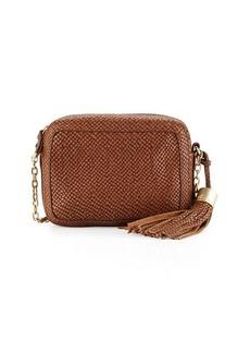 Foley + Corinna Tulie Snake-Embossed Crossbody Bag