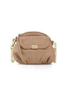 Foley + Corinna Tumbled Leather Crossbody Bag, Putty