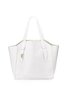 Foley + Corinna Tye Perforated Leather Tote Bag