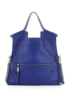 Foley + Corinna Unchained City Fold-Over Leather Tote Bag
