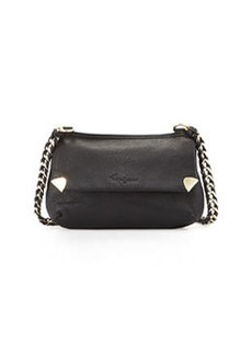 Foley + Corinna Unchained Leather Crossbody Bag, Black