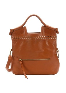 Foley + Corinna whiskey studded 'Mid City' convertible tote bag