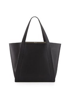 Foley + Corinna Winged Leather Tote Bag, Black