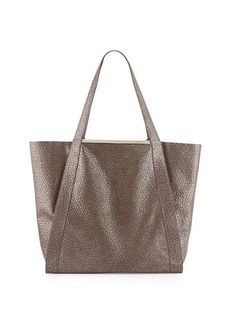 Foley + Corinna Winged Pebbled-Leather Tote Bag