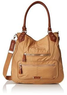 Franco Sarto Berlin Nylon Shopper Tote Convertible Shoulder Bag