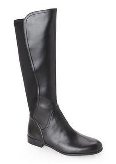 franco sarto Black Maleni Leather & Neoprene Boots