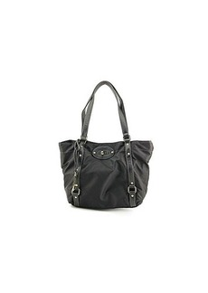 Franco Sarto Devon Travel Tote,Black/Black/Black,One Size