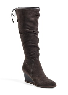 Franco Sarto 'Dominion' Wedge Boot (Women) (Wide Calf)