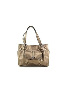 Franco Sarto Kara Travel Tote,Pewter,One Size