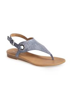 Franco Sarto Leather Thong Sandal (Women)