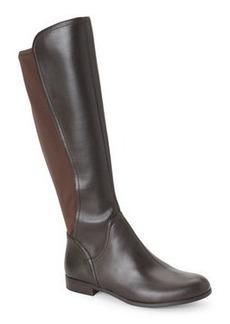 franco sarto Oxford Brown Maleni Leather & Neoprene Boot