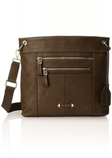 Franco Sarto Russia Messenger Bag, Olive, One Size